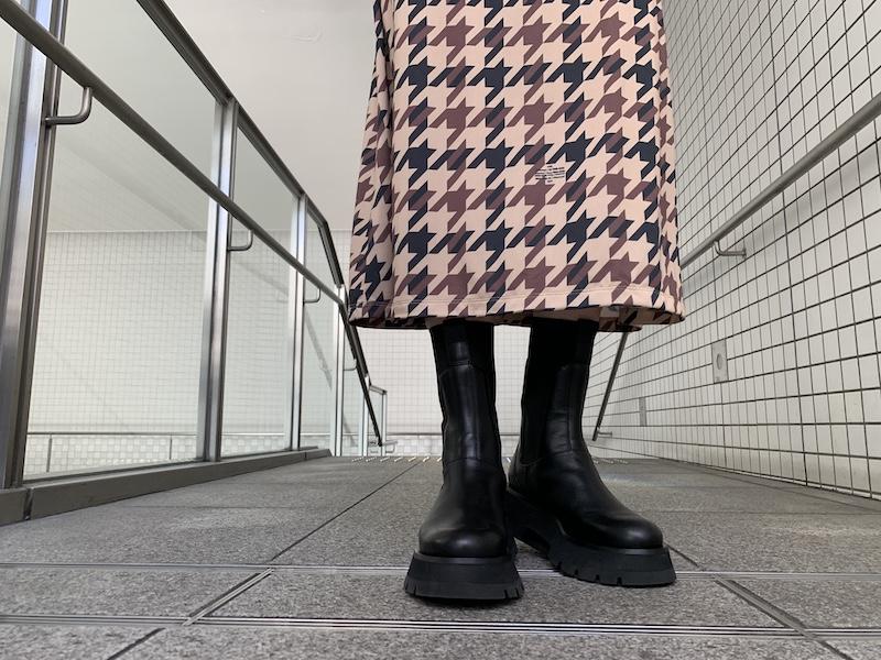3.1 PHILLIP LIM LUG SOLE COMBAT BOOT 【21AW】