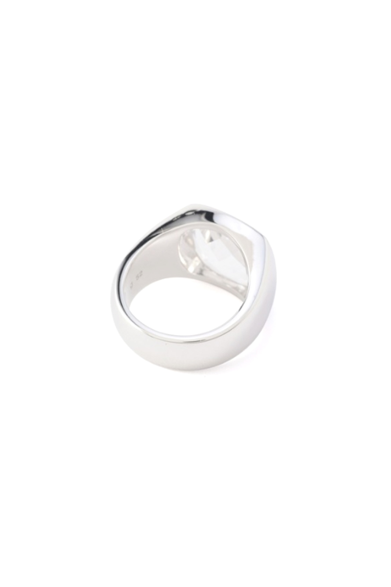 TOM WOOD Shelby Ring Rock Crystal