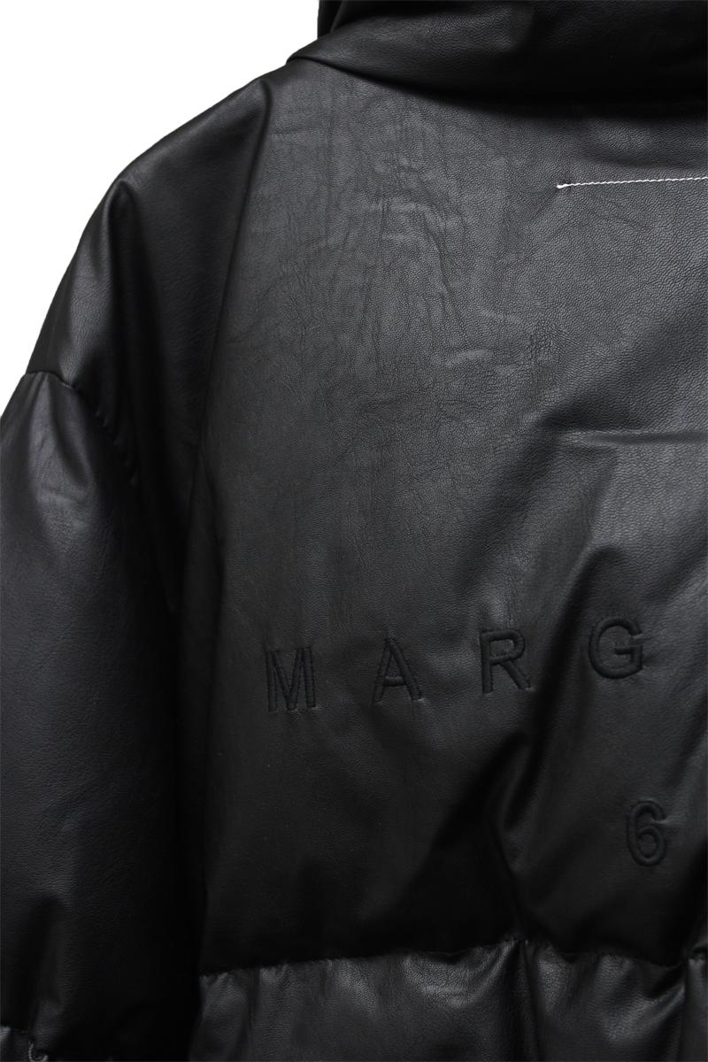 MM6 MAISON MARGIELA フェイクレザーダウンジャケット【21AW】