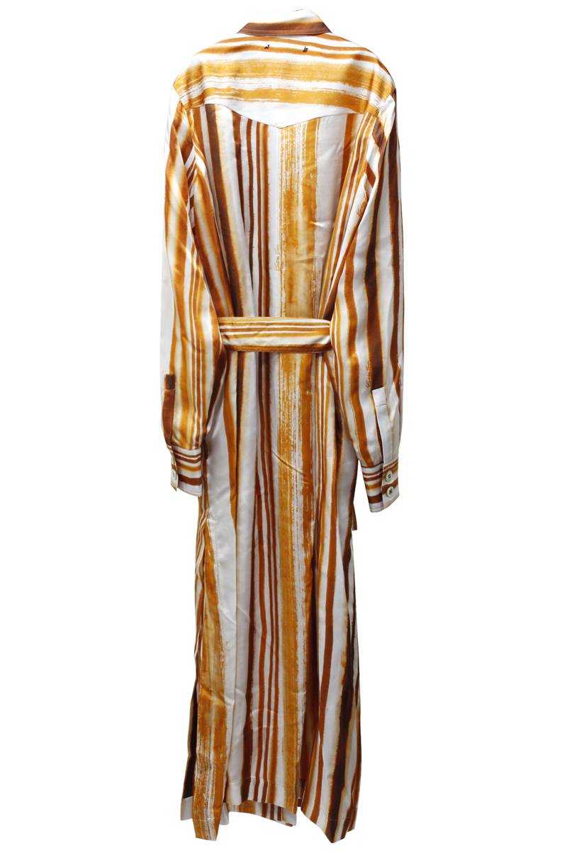GOLDEN GOOSE DELUXE BRAND ストライプシャツドレス【21AW】