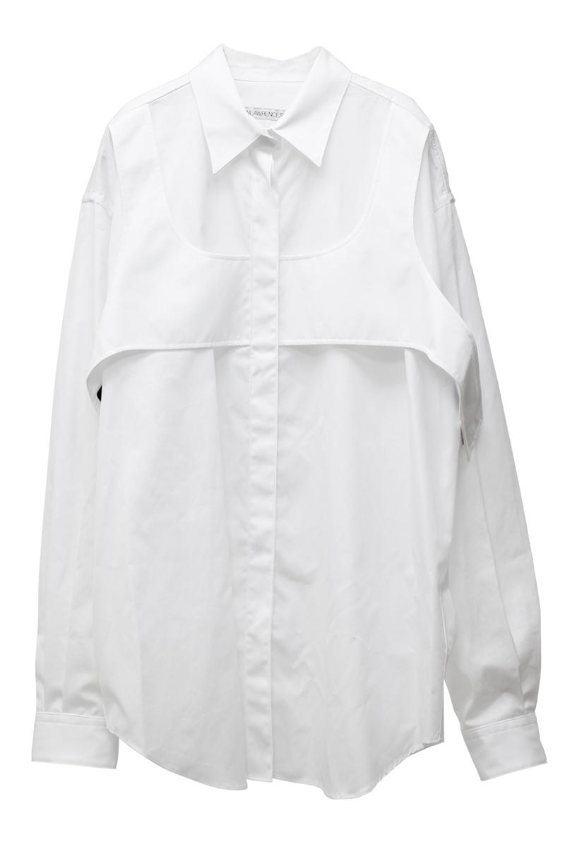 JOHN LAWRENCE SULLIVAN レイヤードシャツ【21AW】