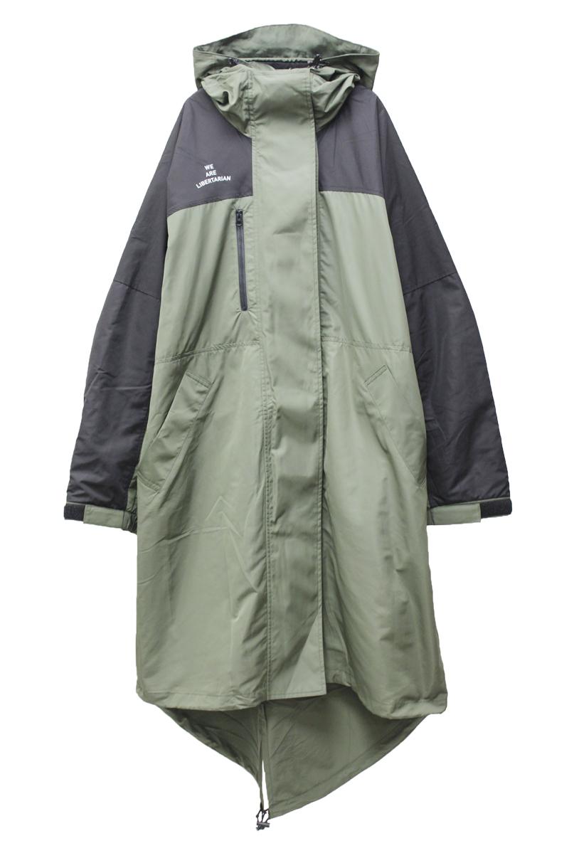 M53. ナイロンオーバーサイズコート【21AW】