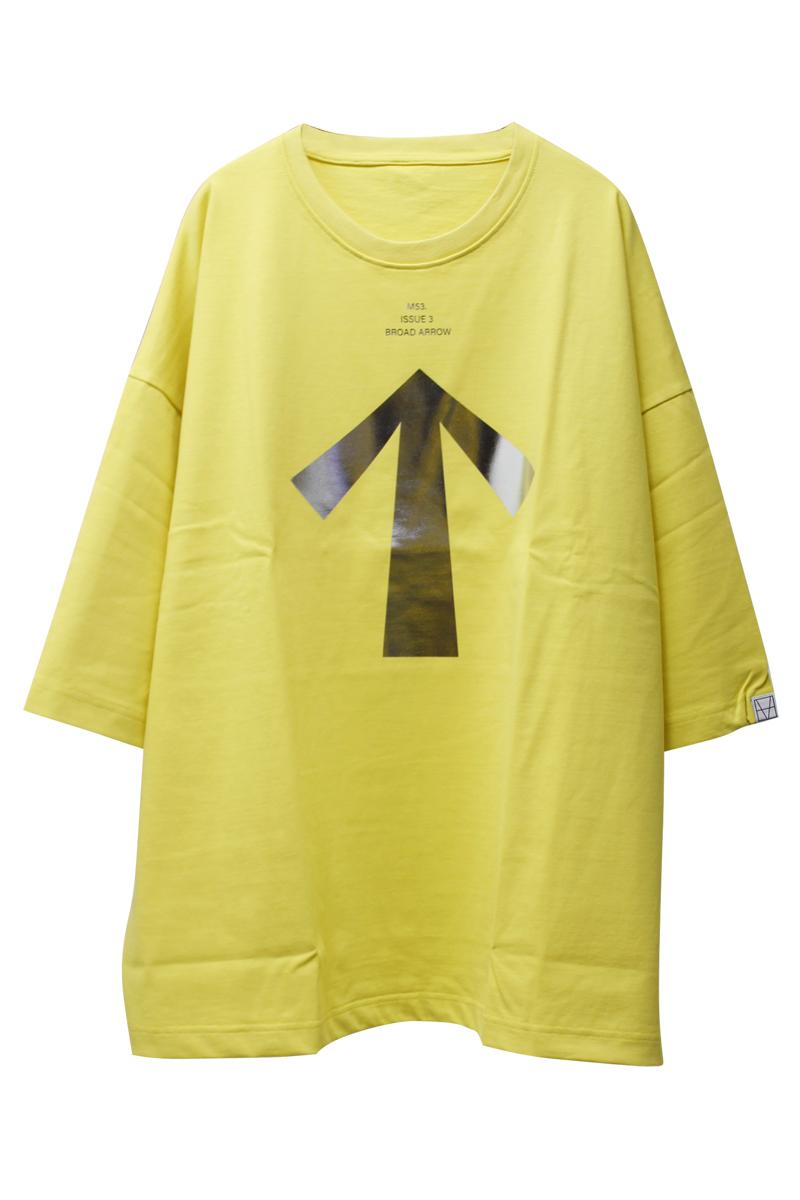 M53. BROAD ARROW DWT Tシャツ【21AW】