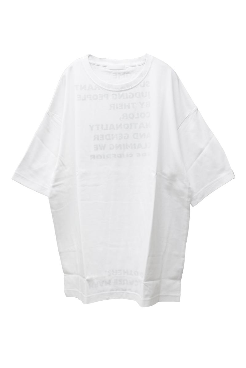 M53. ロゴプリントTシャツ【21AW】