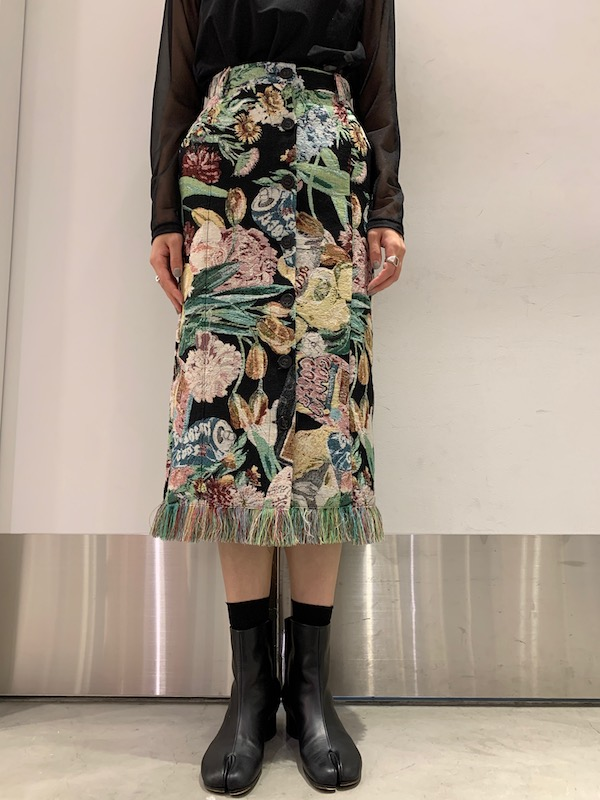 GOLDEN GOOSE DELUXE BRAND ジャガードスカート【21AW】
