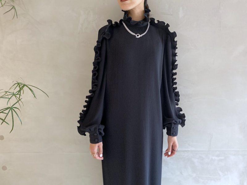 BALENCIAGA プリーツドレス【21AW】