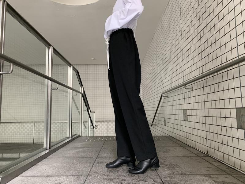MM6 MAISON MARGIELA スラックスワイドパンツ【21AW】