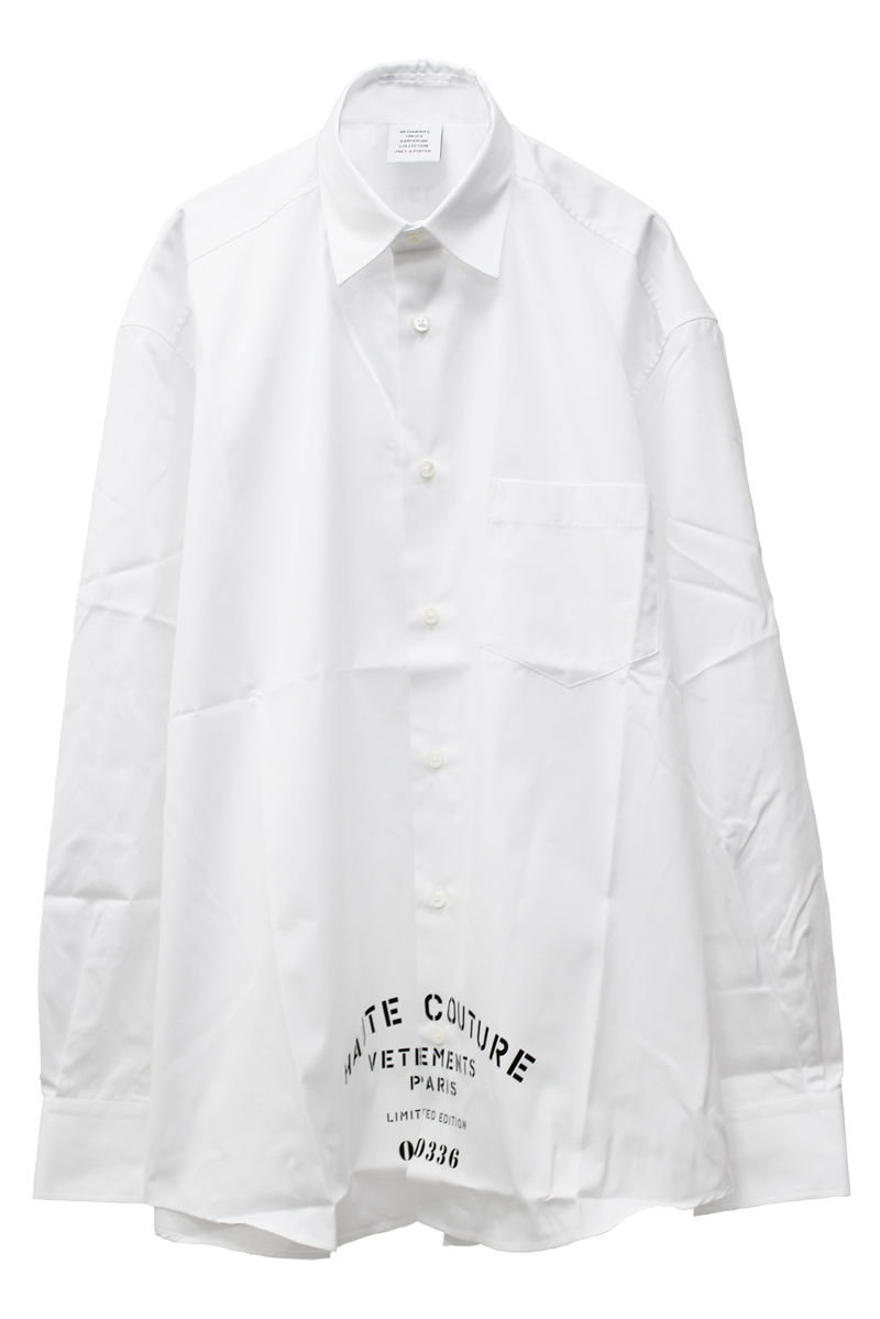 VETEMENTS ロゴシャツ【21AW】