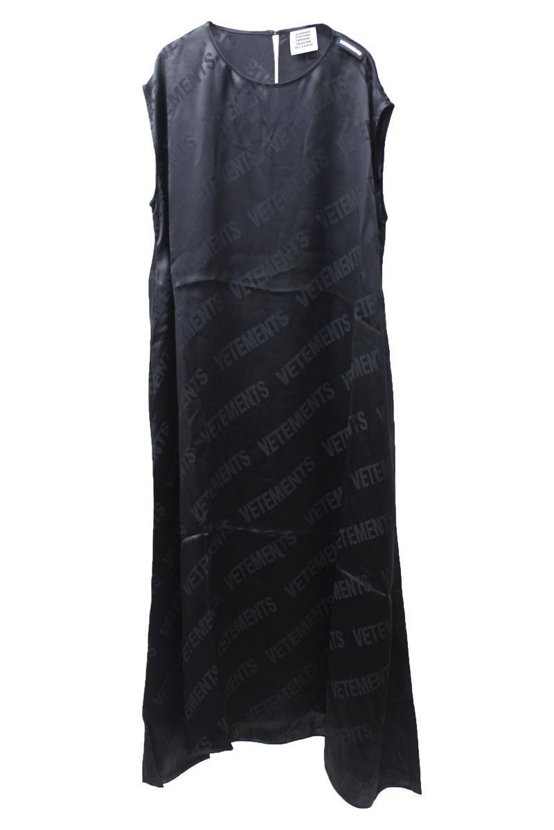 VETEMENTS モノグラムドレス【21AW】