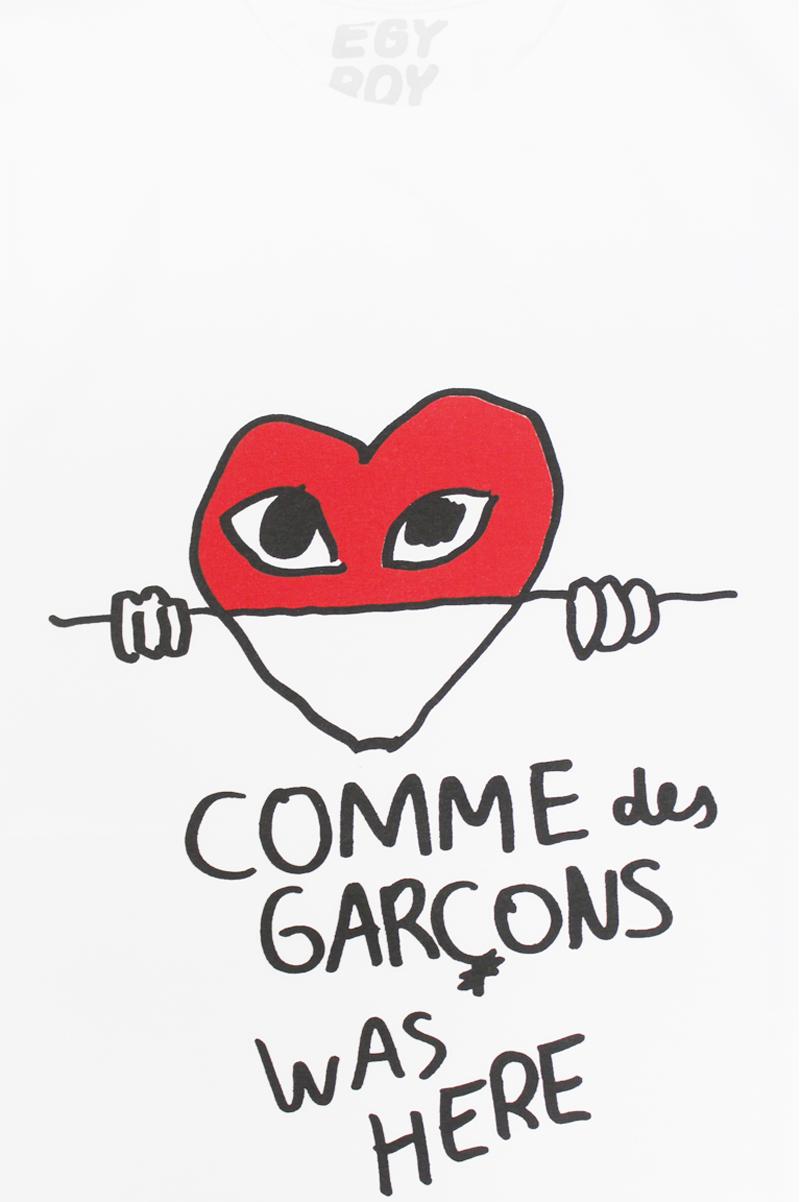 EGY BOY COMME DE GARCONS Tシャツ 【21AW】