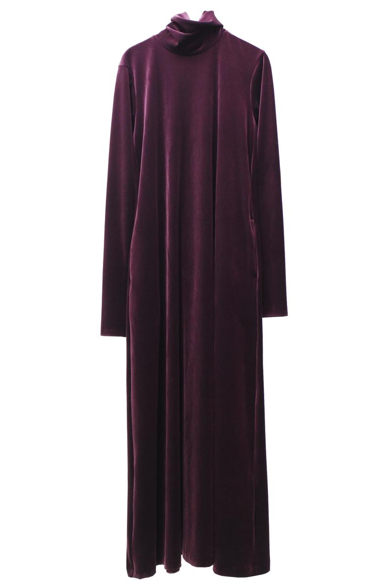 MEKKI VELVET DRESS【21AW】