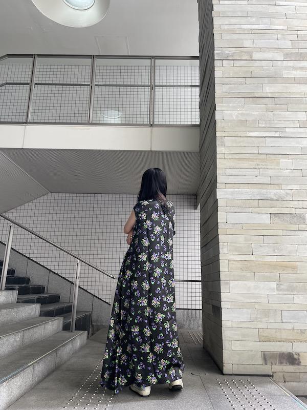 VETEMENTS ACID FLOWERSドレス 【21AW】