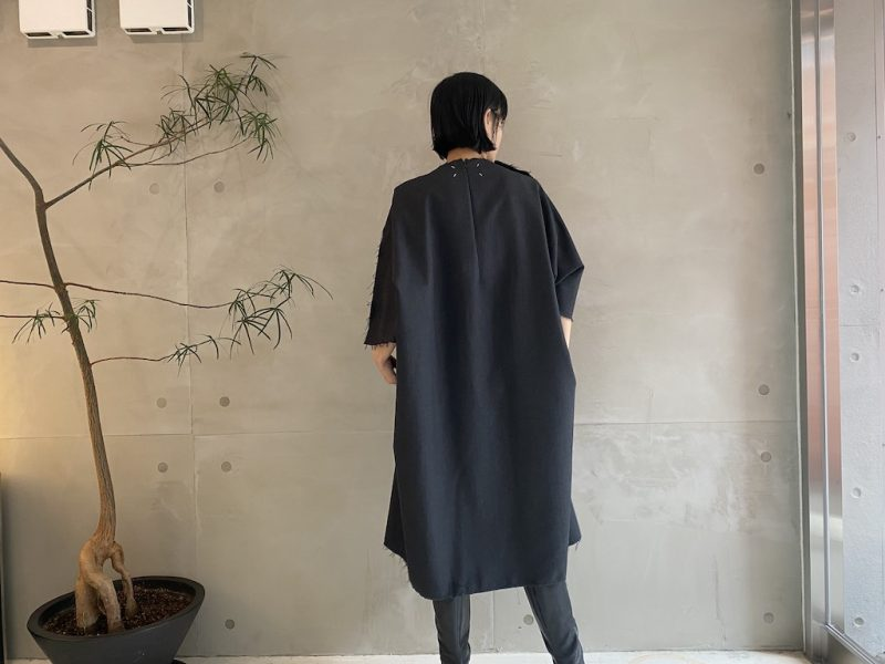 MAISON MARGIELA オーバーサイズワンピース【21AW】