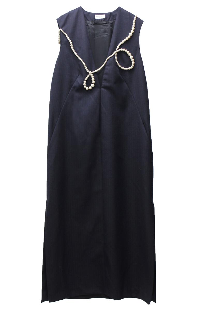 DRIES VAN NOTEN DROWN LONG EMB ドレス【21AW】