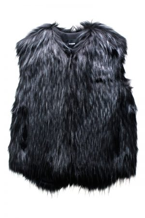 WE11DONE FAUX FURベスト【21AW】