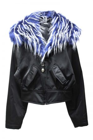 WE11DONE FAUX FUR ショートジップアップブルゾン【21AW】