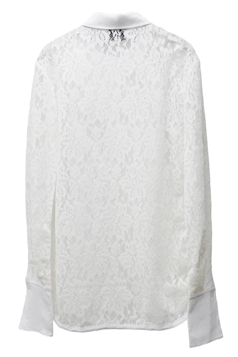 3.1 PHILLIP LIM FLOCKED LACEシャツ【21AW】