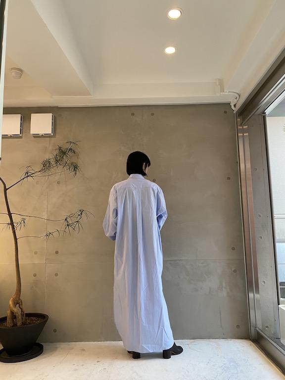 DRIES VAN NOTEN MEN CAYLEY BIS ロングシャツ【21AW】